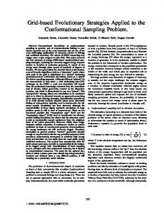 Grid-based Evolutionary Strategies Applied to the ... - Semantic Scholar