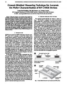 Ground-Shielded Measuring Technique for ... - Semantic Scholar
