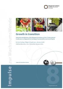 Growth in transition - Publication Server of the Wuppertal Institute for ...