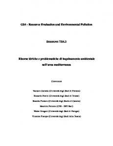 GS4 - Resource Evaluation and Environmental ...