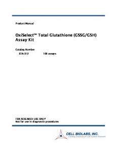 GSH) Assay Kit