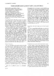 Guanine nucleotide regulatory proteins in insulin's action and in ...