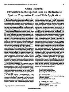 Guest Editorial Introduction to the Special Issue on ... - IEEE Xplore