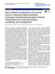 Guest editorial introduction to the special issue on ... - Springer Link