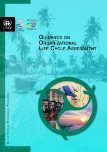 guidance on organizational life cycle assessment - Life Cycle Initiative