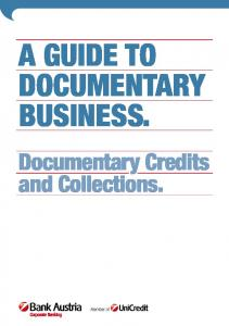 Guide to Documentary Business (PDF)