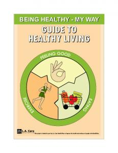 Guide to Healthy Living - English