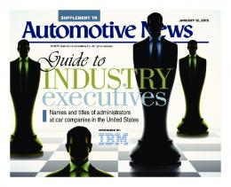 Guide to Industry Execs Jan. 2015