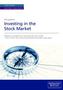 Guide to Investing in the Stock Market - Redmayne-Bentley