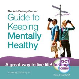 Guide to Keeping Mentally Healthy