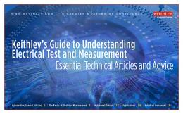 Guide to Understanding Electrical Test and Measurement - Mouser ...