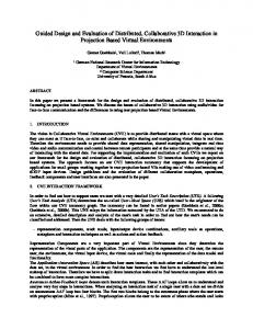 Guided Design and Evaluation of Distributed ... - CiteSeerX