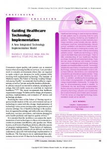 Guiding Healthcare Technology Implementation - LWW.com
