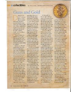 Guns and Gold - The National Firearms Museum