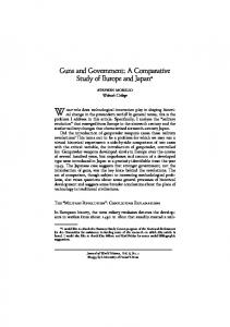 Guns and Government: A Comparative Study of ...