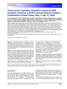 H1N1 - Wiley Online Library