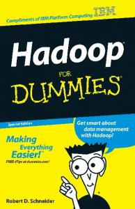 Hadoop For Dummies, Special Edition