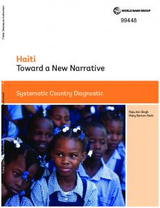 Haiti - World bank documents - World Bank Group