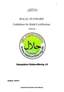 quality assurance in halal food manufacturing Halal practitioner program ( level 4 ) quality control & quality management system in halal assurance system (food manufacturing & food.