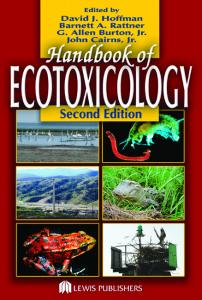 Handbook of ecotoxicology, 2nd edition
