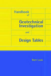Handbook of Geotechnical Investigation and Design ... - yimg.com