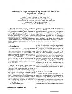 Handwritten Digit Recognition by Neural Gas Model and Population ...