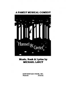 Hansel and Gretel - CenterStage
