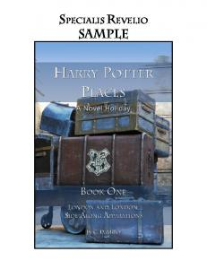Harry Potter Places Book One Sample