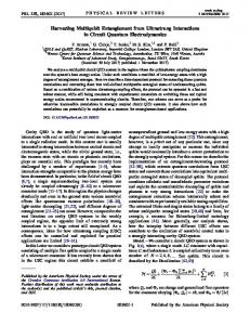 Harvesting Multiqubit Entanglement from Ultrastrong Interactions in ...
