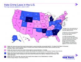 Hate Crime Laws in the U.S.