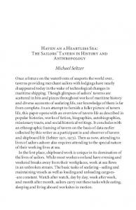 Haven an a Heartless Sea - Alcohol and Drugs History Society