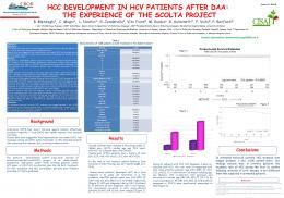 HCC DEVELOPMENT IN HCV PATIENTS AFTER DAA - CROI