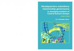 Headquarters-subsidiary relationship governance in emerging ...
