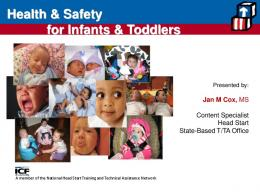Health & Safety for Infants & Toddlers