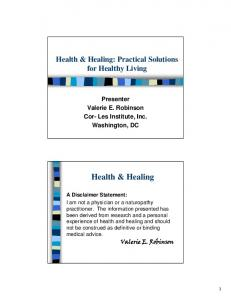 Health & Healing - the ATTC Network