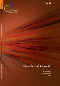 Health Investments and Economic Growth: Macroeconomic Evidence ...