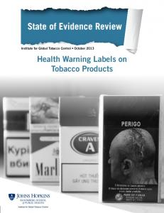 Health Warning Labels on Tobacco Products - Global Tobacco Control