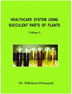healthcare system using succulent parts of plants