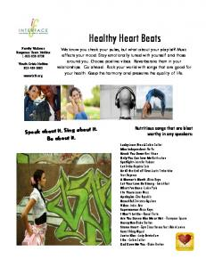 Healthy Heart Beats