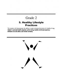 Healthy Lifestyle Practices - Education and Advanced Learning