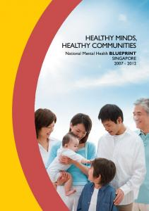 healthy minds, healthy communities - Institute of Mental Health