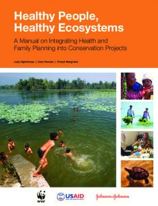 Healthy People, Healthy Ecosystems - World Wildlife Fund