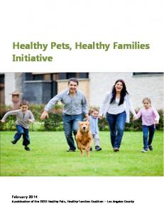 Healthy Pets, Healthy Families Initiative - Department of Public Health