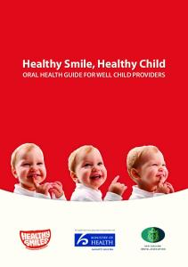 Healthy Smile, Healthy Child - Healthy Smiles