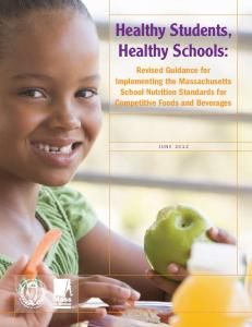 Healthy Students, Healthy Schools: Guidance for Implementing ...