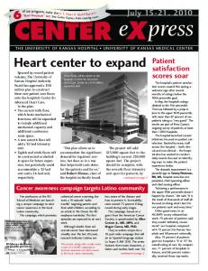 Heart center to expand