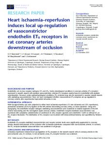 Heart ischaemiareperfusion induces local ... - Wiley Online Library