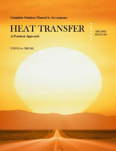 Heat Transfer ; 2nd Edition - catatanabimanyu