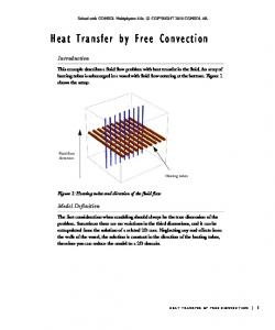 Heat Transfer by Free Convection