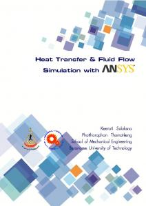 Heat Transfer & Fluid Flow Simulation with ANSYS